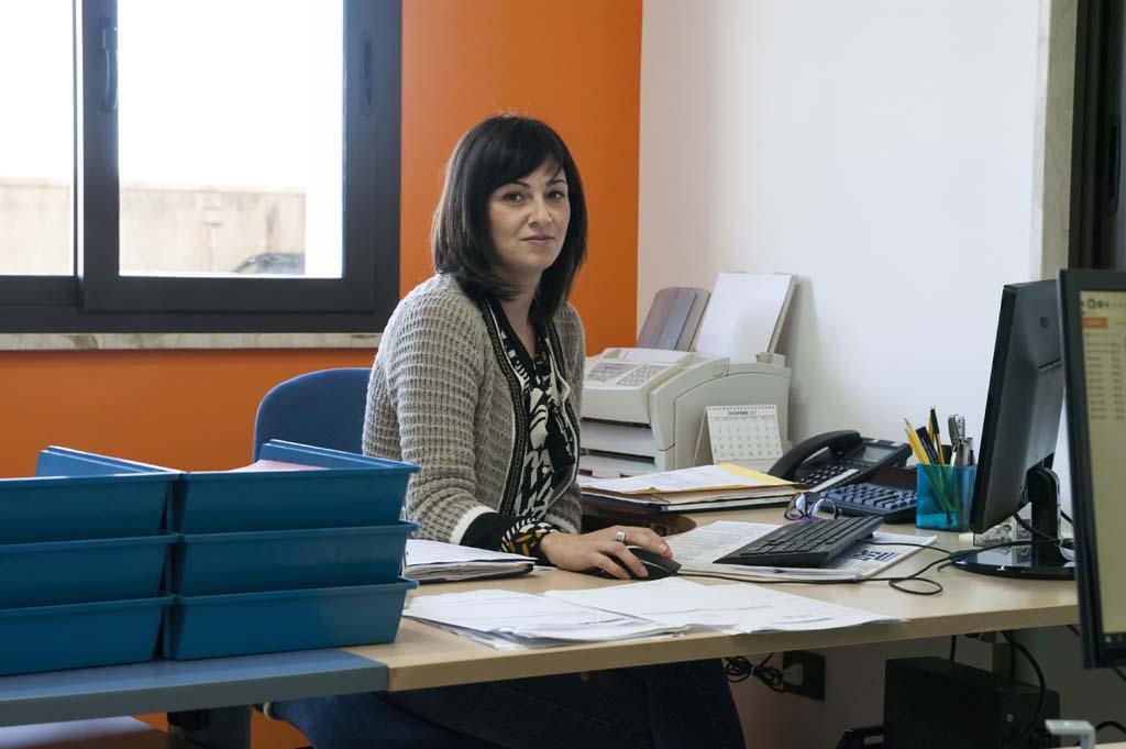 Geis Impianti, Liliana Randazzo, responsabile alla fatturazione