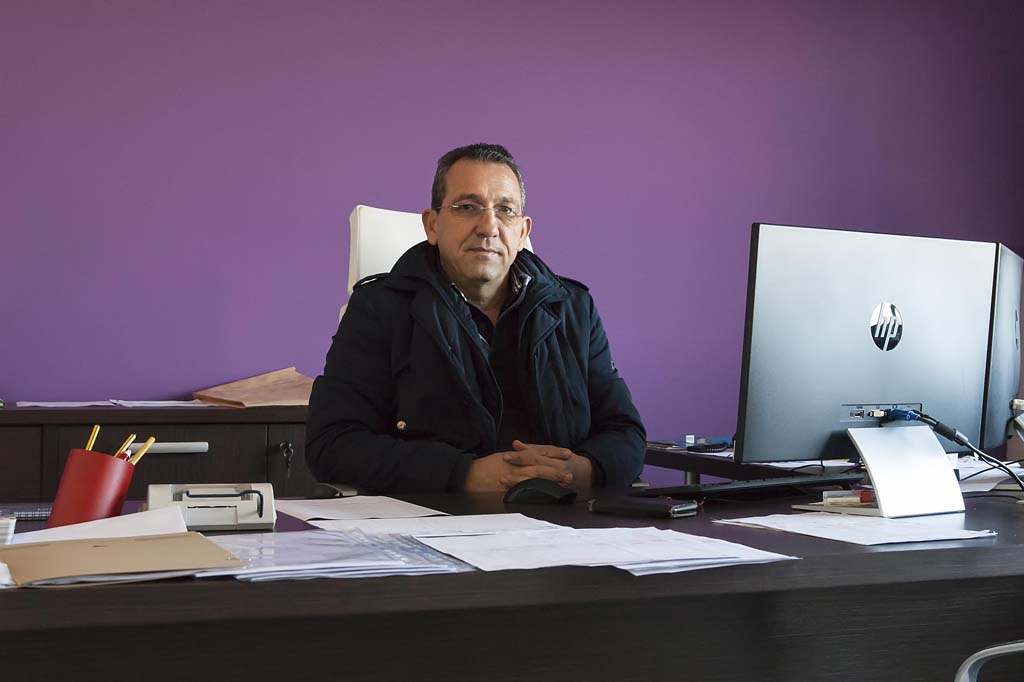 Geis Impianti, responsabile amministrativo Vincenzo Siringo